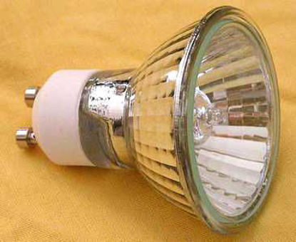 Picture of GU10 240V 50W Halogen Lamps (4 Pack)