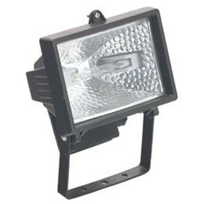 Picture of QLC150 Halogen Floodlight with 150W Lamp (Black)