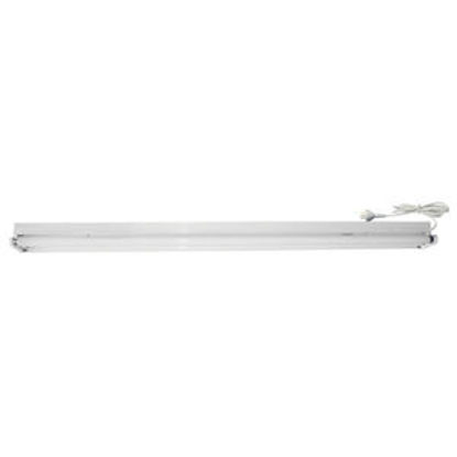 Picture of Twin 36W Bare Fluorescent Batten with Flex and Plug