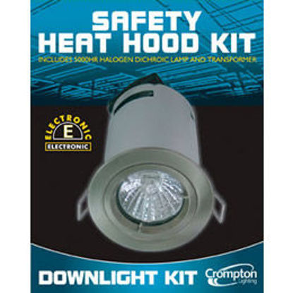 Picture of Aluminium Safety Heat Hood Fixed Low Voltage Downlights