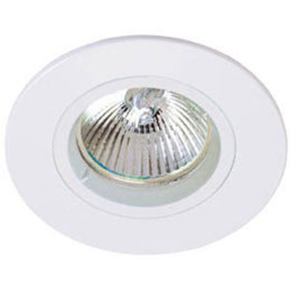 Picture of Fixed Die-Cast Aluminium Downlight (Satin Chrome or White)
