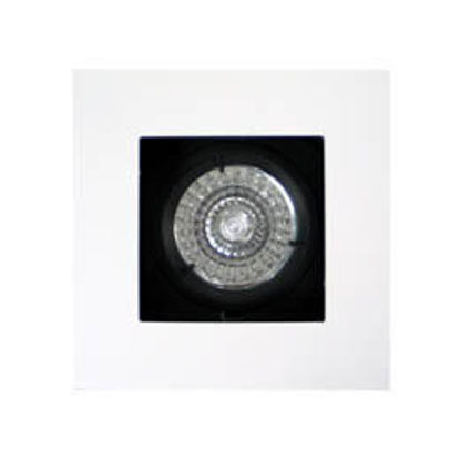 Picture of Fixed square downlight with round cut-out
