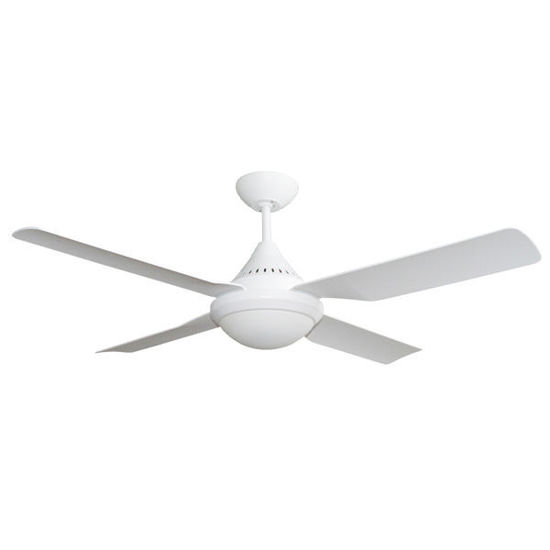 Picture of Martec Imperial 1200mm 3/ 4 Blades ABS Ceiling Fan with 2 x E27 Light White colour